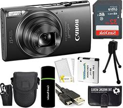 CanonPowerShot ELPH 360 HS 20.2MP 12x Zoom Full-HD 1080p W