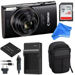 Canon PowerShot ELPH 360 Digital Camera w/Wi-Fi & NFC Enable
