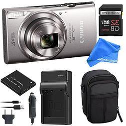 Canon PowerShot ELPH 360 Digital Camera w/ Wi-Fi & NFC Enabl