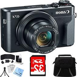 Canon PowerShot G7 X Mark II Digital Camera w/ Accessory Bun