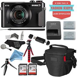 Canon PowerShot G7 X Mark II Video Creator Kit, SanDisk 32GB