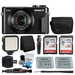 Canon PowerShot G7 X Mark II Digital Camera Video Creator Ki