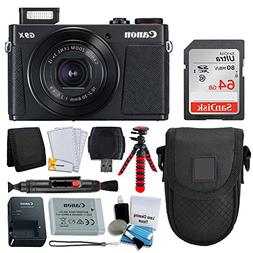 Canon PowerShot G9 X Mark II Digital Camera  + SanDisk 64GB