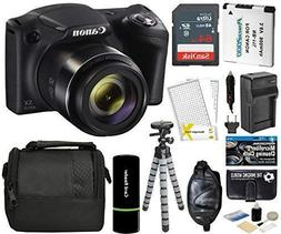 Canon PowerShot SX420 IS Digital Camera Black with 20MP 42x