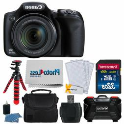 Canon PowerShot SX530 HS Digital Camera + 32GB SDHC Memory C