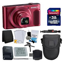 Canon PowerShot SX620 HS Digital Camera  + Transcend 32GB Me