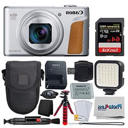 Canon PowerShot SX740 HS Digital Camera  + 64GB Memory Card