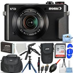 Canon PowerShot G7 X Mark II Digital Camera 1066C001 32GB Ca