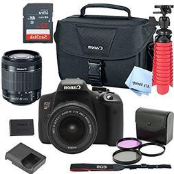 Canon T6i Digital SLR Camera Kit with EF-S 18-55mm Lens  wit