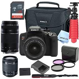 Canon T6i Digital SLR Camera Kit with EF-S 18-55mm and EF 75