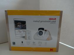 kodak CFH-BVA10 180-Degree HD Wi-Fi Video Baby Monitor, Nigh