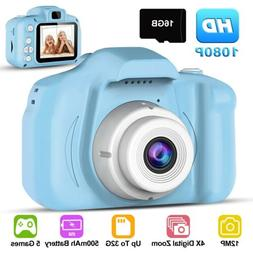 Children Digital Cameras Kids 12MP 1080P Toddler Video Recor