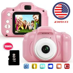 Children Digital Cameras Kids 13MP 1080P  Toddler Video Reco