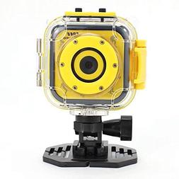 Children Kids Action Camera Digital Video Waterproof HD Camc