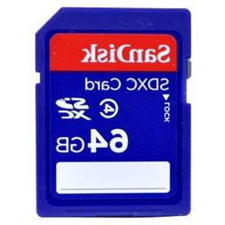SanDisk 64GB Class 4 SDXC Memory Card