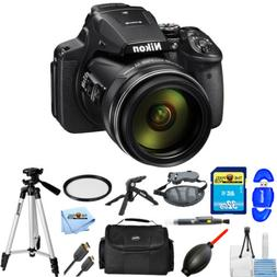 Nikon COOLPIX 16MP P900 Digital Camera  PRO BUNDLE BRAND NEW