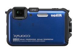 Nikon COOLPIX AW100 16 MP CMOS Waterproof Digital Camera wit