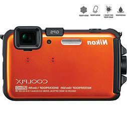 Nikon COOLPIX AW100 16MP Waterproof Shockproof Freezeproof O