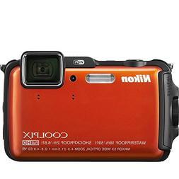 Nikon Coolpix AW110 Shock & Waterproof GPS Digital Camera