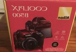 Nikon COOLPIX B500 16.0MP Digital Camera - Red-Brand New!
