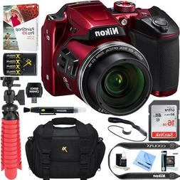 Nikon COOLPIX B500 16MP 40x Optical Zoom Digital Camera 16GB