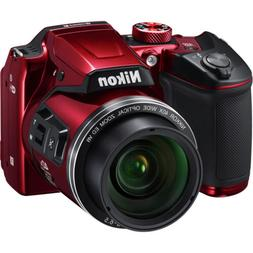 "Nikon Coolpix B500 16MP Digital Camera with 3"" LCD & 40x Opt"