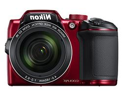Nikon COOLPIX B500 Digital Camera - Red
