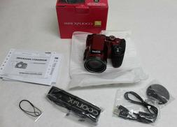 coolpix b500 digital camera red
