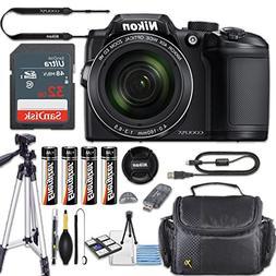 Nikon COOLPIX B500 Digital Camera 40x Optical Zoom, Built-In