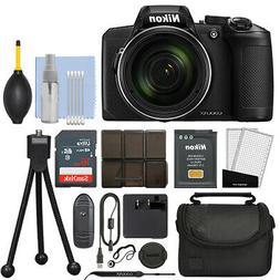 Nikon Coolpix B600 16MP Digital Camera 60x Optical Zoom Blac