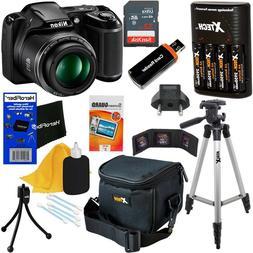 Nikon COOLPIX L340 20MP Digital Camera, 28x Zoom & Full HD V