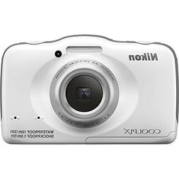 Nikon COOLPIX S32 13.2 MP Waterproof Digital Camera with Ful