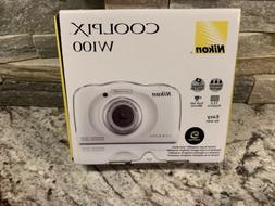 Nikon Coolpix W100 13.2-Megapixel Waterproof Digital Camera