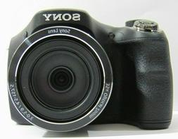 Sony Cyber-Shot DSC-H300 Black Digital Camera - 20.1 MP
