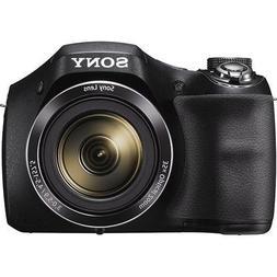 Sony Cyber-shot DSC-H300 20.1 MP Digital Camera - Black - Ce