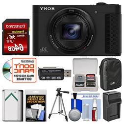Sony Cyber-Shot DSC-HX80 Wi-Fi Digital Camera with 64GB Card