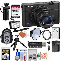 Sony Cyber-Shot DSC-RX100 IV 4K Wi-Fi Digital Camera & VCT-S