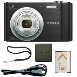 Sony Cyber-shot DSC-W800 20.1MP Compact Camera - Black