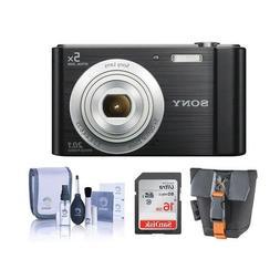 Sony Cyber-shot DSC-W800 Digital Camera, 20.1MP - Bundle Wit