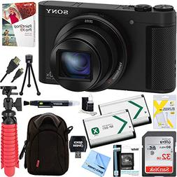 Sony Cyber-shot HX80 Compact Digital Camera + 32GB Dual Batt