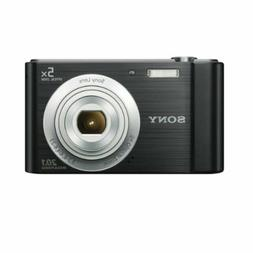 Sony Cybershot DSC-W800 20.1MP 5x Zoom, Compact Camera - Bla