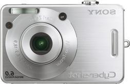 Sony Cybershot DSCW50 6MP Digital Camera with 3x Optical Zoo
