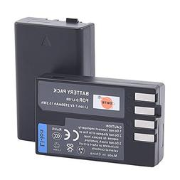 DSTE 2x D-Li109 Replacement Li-ion Battery for Pentax K-R K-