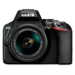 Nikon D3500 Digital SLR Camera w/ DX 18-55mm Lens Kit NEW!