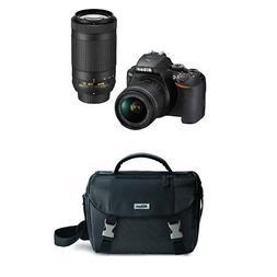 Nikon D3500 Two Lens Kit with AF-P DX NIKKOR 18-55mm & AF-P
