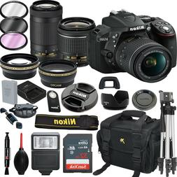 Nikon D5300 DSLR Camera With 18-55mm and 70-300mm Lenses Kit