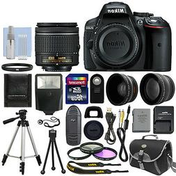 Nikon D5300 Digital SLR Camera + 3 Lens Kit 18-55mm Lens + 1