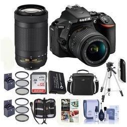 Nikon D5600 DSLR Camera Kit w/AFP DX 18-55mm f/3.5-5.6G VR a