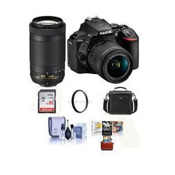 Nikon D5600 DSLR Camera Kit w/AFP DX 18-55mm f/3.5-5.6G VR &