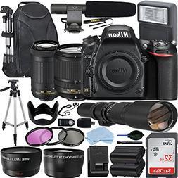 Nikon D750 DSLR Camera with AF-S DX NIKKOR 18-140mm + Nikon